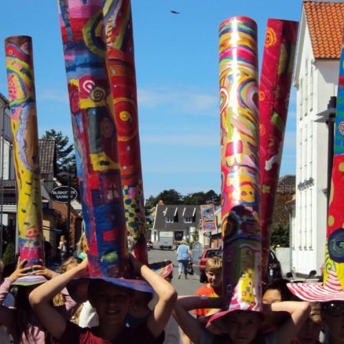 Parafrase over Hundertwassers billede