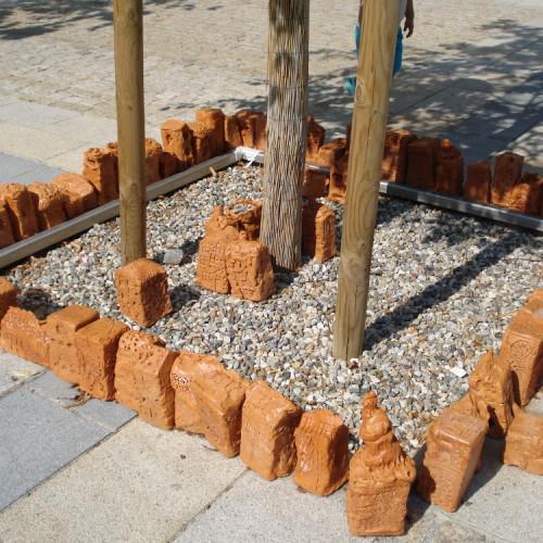 Daginstitutioner bygger huse omkring gadens træer, Slovenien_2
